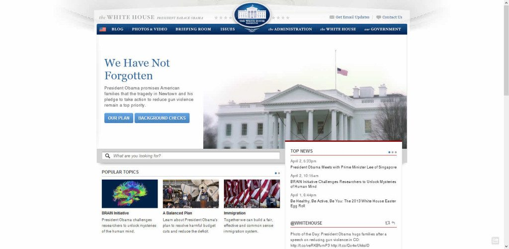 White House Website Platform Drupal
